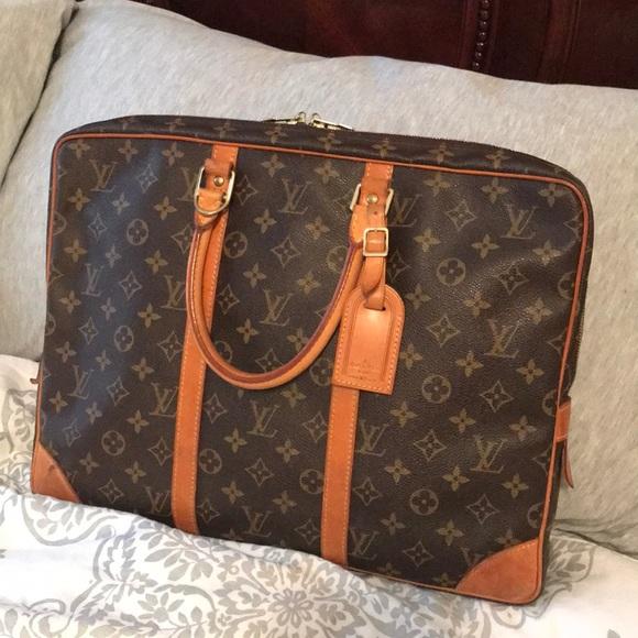 70a8e20360cbc Louis Vuitton Handbags - Louis Vuitton Porte Documents Briefcase Laptop Bag